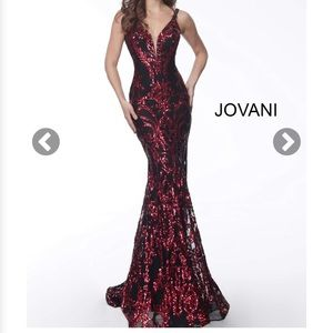 Jovani prom gown 63350